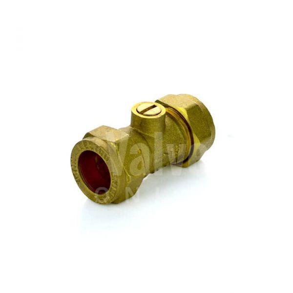 Brass Isolation Valve Compression End