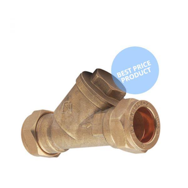 Compression End Brass Y Type Strainer