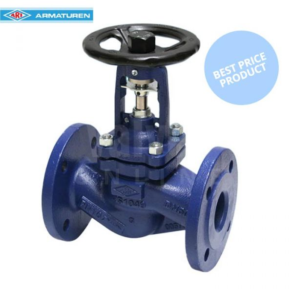 Economy ARI FABA-Plus Cast Iron PN16 Globe Isolation Valve