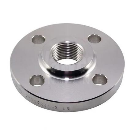 316L Stainless Steel BSPP Threaded Flange - PN16