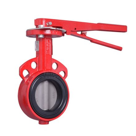 Bray Series 30 Wafer Butterfly Valve - Nylon Coated Ductile Iron Disc