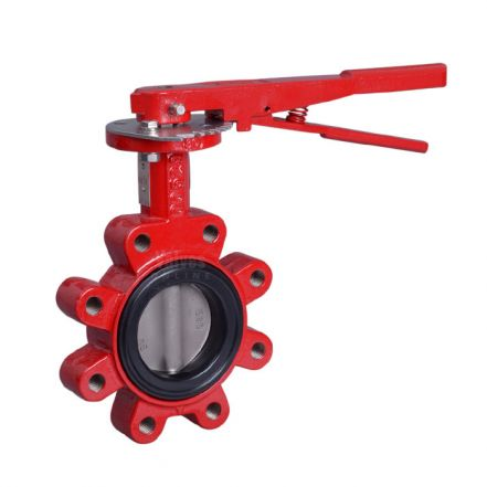 Bray Series 31 Lugged ANSI 150 Butterfly Valve - Nylon Coated Ductile Iron Disc