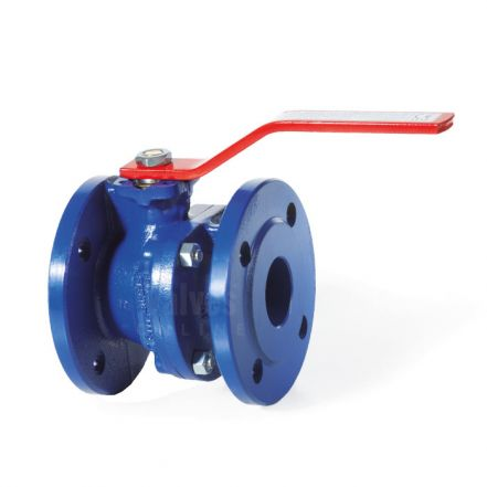 Ductile Iron Ball Valve Flanged PN16 - Stainless Steel Ball