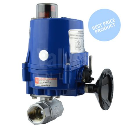 Electric Actuated Economy Screwed 2 Way Brass Ball Valve