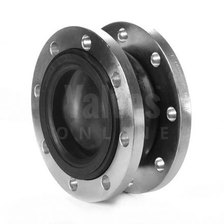 Flanged PN16 EPDM Rubber Expansion Bellows