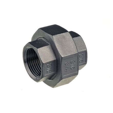 Stainless Steel Female / Female PTFE Union