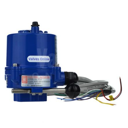 Compact On / Off Electric Actuator - 30Nm
