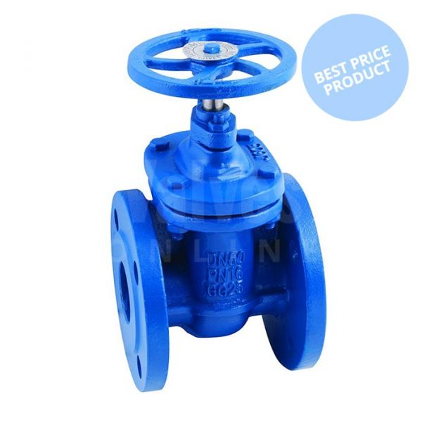 Economy Metal Seated Flanged PN16 Gate Valve