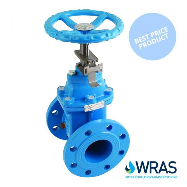 Economy Resilient Seated Gate Valve PN16 - WRAS Approved