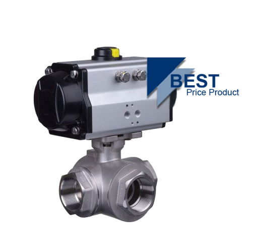 Pneumatic Actuated Economy Ball Valves