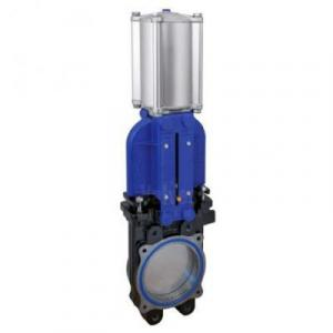 ECONOMY ACTUATED KNIFE GATE VALVES