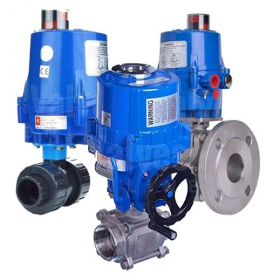 VS - All Electric Actuated Ball Valves
