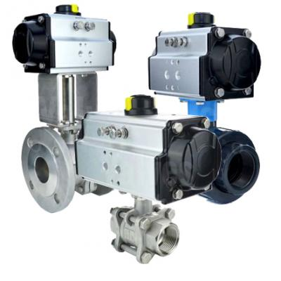 VS - All Pneumatic Actuated Ball Valves