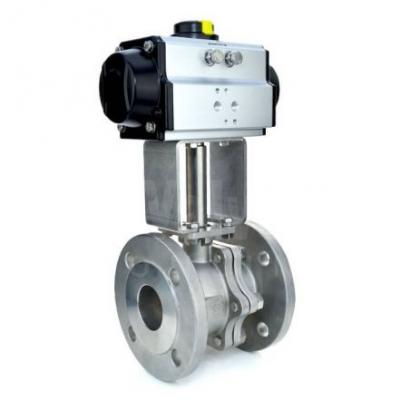VS - Flanged Pneumatic Actuated Ball Valves