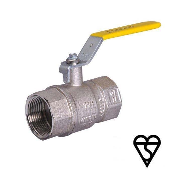 Brass Ball Valve BSI Gas and WRAS Approved