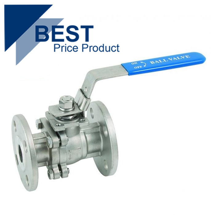 Economy Flanged ANSI150 Stainless Steel Ball Valve