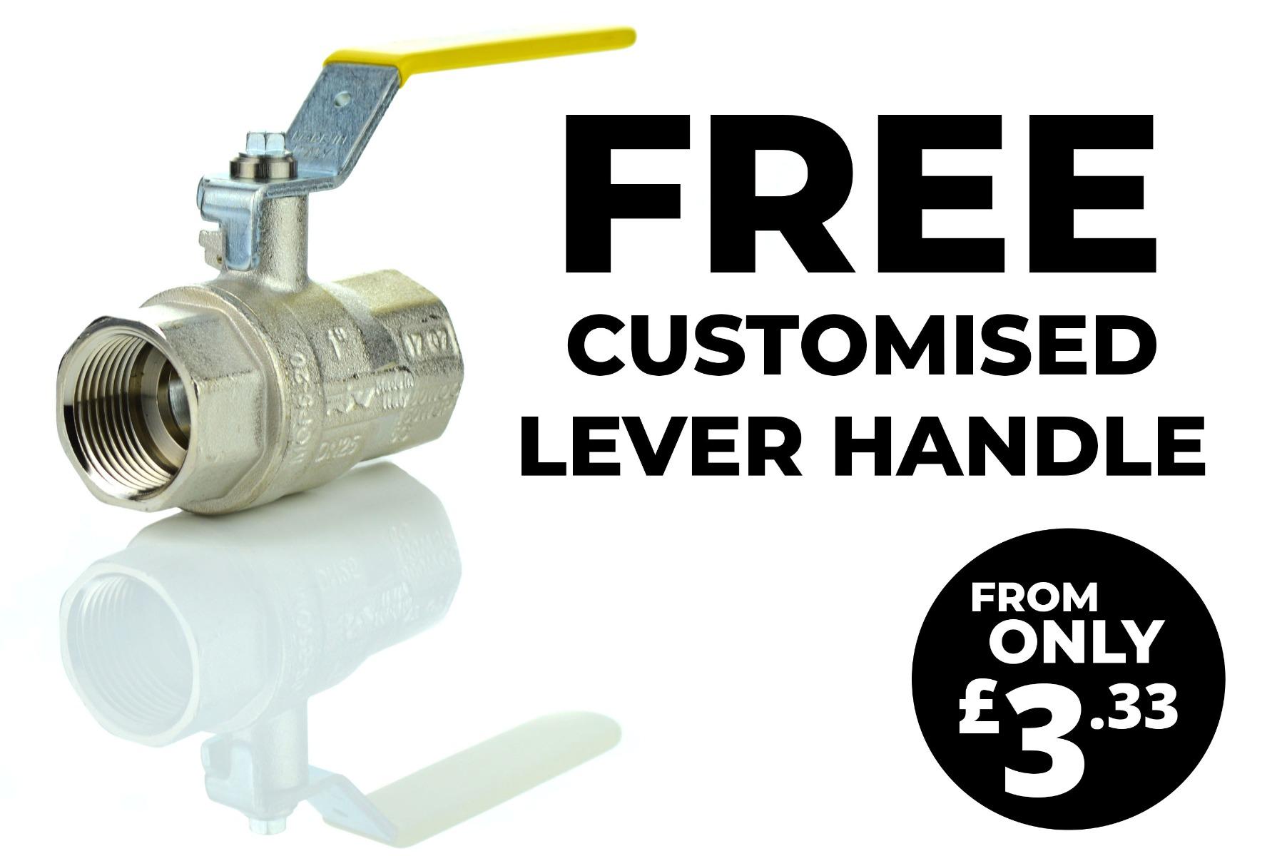 Free Custom Lever Handle