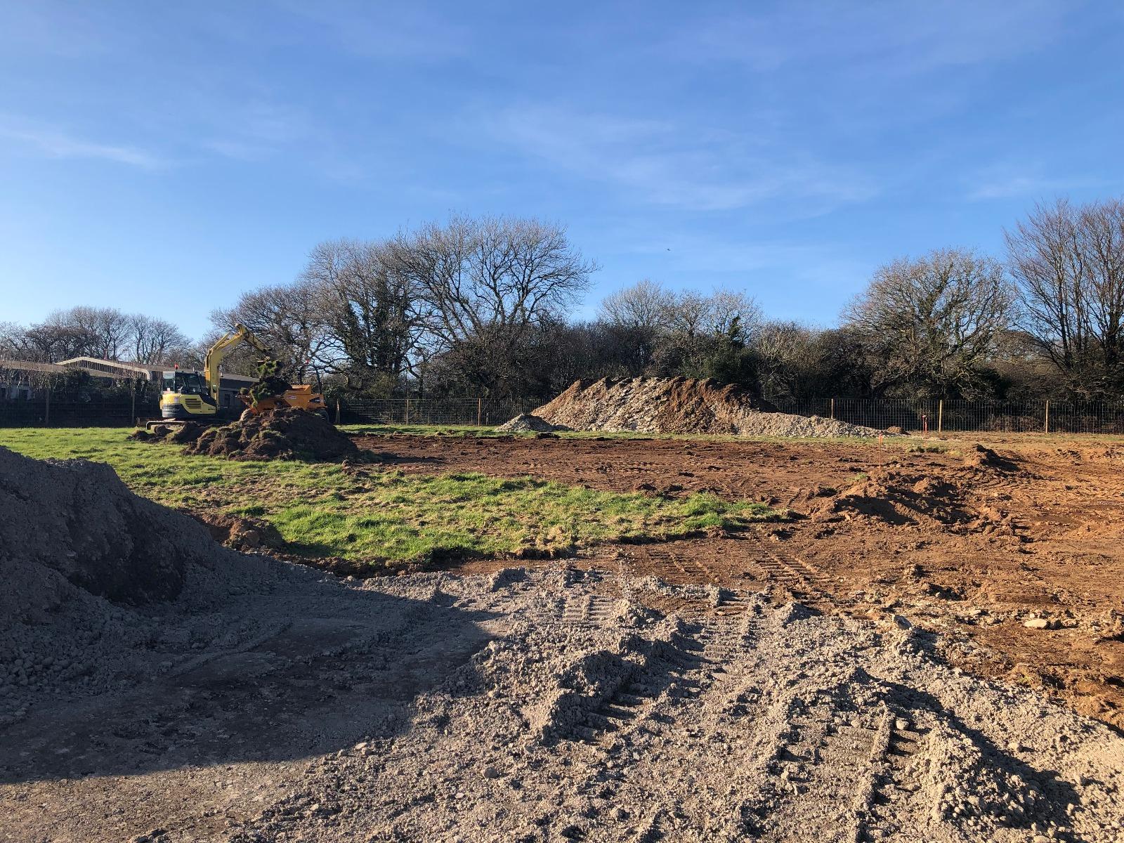 Building Groundwork begun