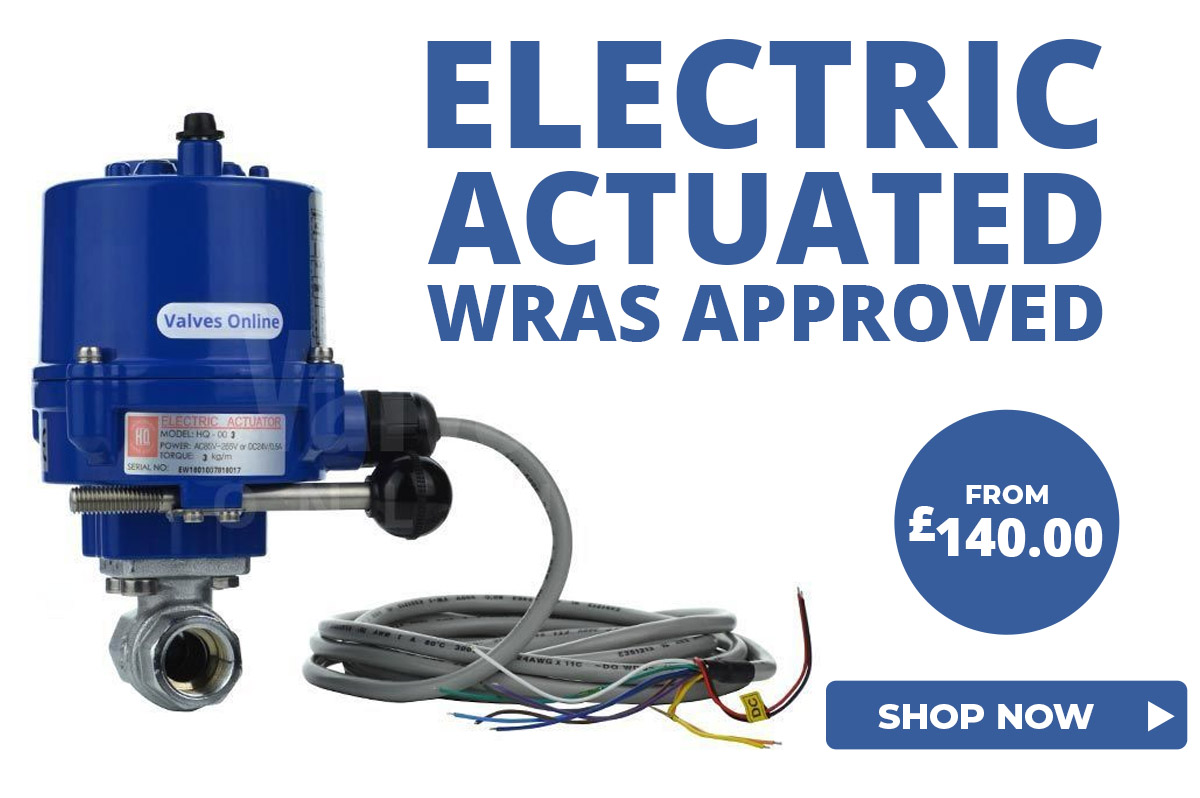 WRAS Approved Actuated Ball Valves